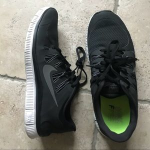 Nike Plus Free 5.0 Men's Shoes Black 10.5
